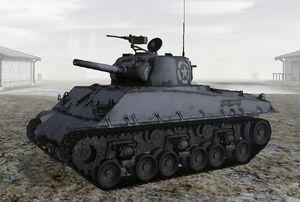 M4a3 105mm hvss sherman 1