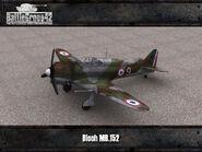 Bloch MB.152 render