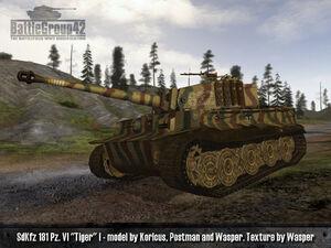 Tiger I late 1