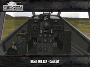 Bloch MB.152 render 2