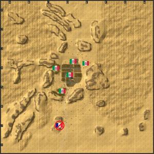 4103-Koufra Raid map