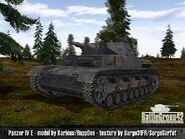 Panzer IV Ausf E 1