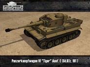 Tiger I early render 1