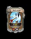 Ranged 1 CARD HERO MULTI ARROW