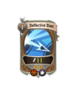 Ranged 1 CARD HERO DEFLECTIVE DART