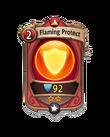 Magic 1 CARD HERO FLAMING PROTECT MIN