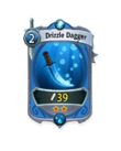 Melee 1 CARD HERO DRIZZLE DAGGER