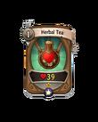 Ranged 0 CARD HERO HERBAL TEA