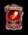 Magic 0 CARD HERO SMOKING MISSILE MIN