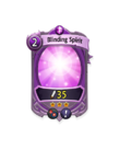 Magic 2 CARD HERO BLINDING LIGHT