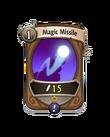 Magic 0 CARD HERO MAGIC MISSILE MIN