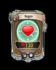Magic 1 CARD HERO REGEN MIN