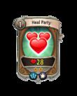 Magic 1 CARD HERO HEAL PARTY MIN