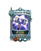 Might - SuperRare - Hammer Of God
