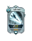 Ranged 1 CARD HERO GALE DART