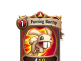 Fuming Bunny