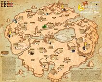 Complete Map with tips, Random locations and various elements