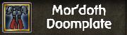 Mor'doth Doomplate
