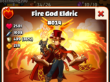 Fire God Eldric