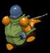 Sniper green back
