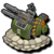 Veh anti aircraft gun premium icon
