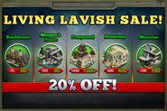 Living Lavish Sale 2015