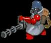 Minigunner front