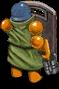 Shotgunner back