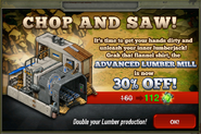 Chop And Saw Sale