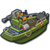 Ship gunboat icon