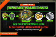 January Value Pack January 2014
