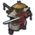 S samurai icon