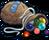Job toolshop marbles icon