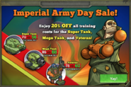 Imperial Army Day Sale