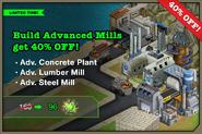 Advanced Mills Sale August 2013