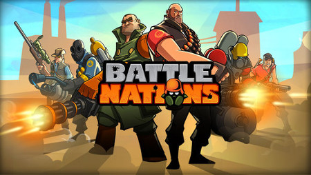 Battle Nations Team Fortress 2 Art