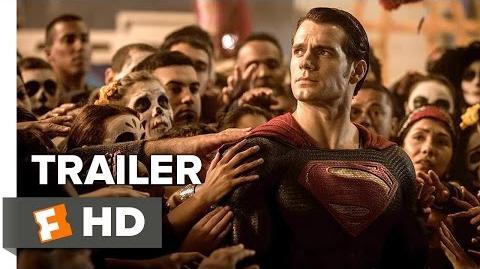 Batman v Superman Dawn of Justice Official Trailer 1 (2016) - Henry Cavill, Ben Affleck Movie HD-1