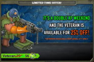 Double XP Veteran Sale June 2013