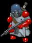 Commando grey front