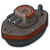 Ship ironclad icon
