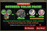 October Value Pack