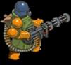 Minigunner back