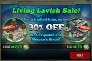 Living Lavish Sale