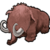S mammoth large icon