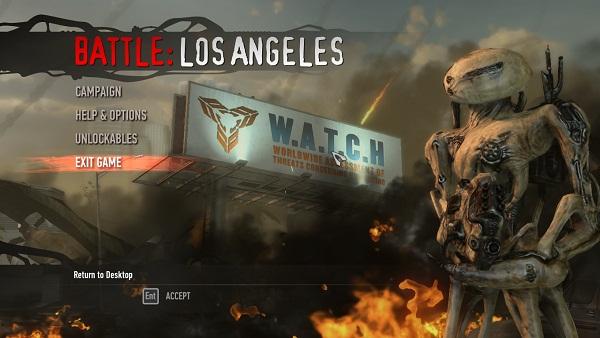 Battle: Los Angeles (video game) | Battle: Los Angeles ...