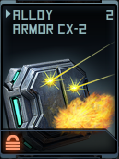 Alloy Armor CX-2