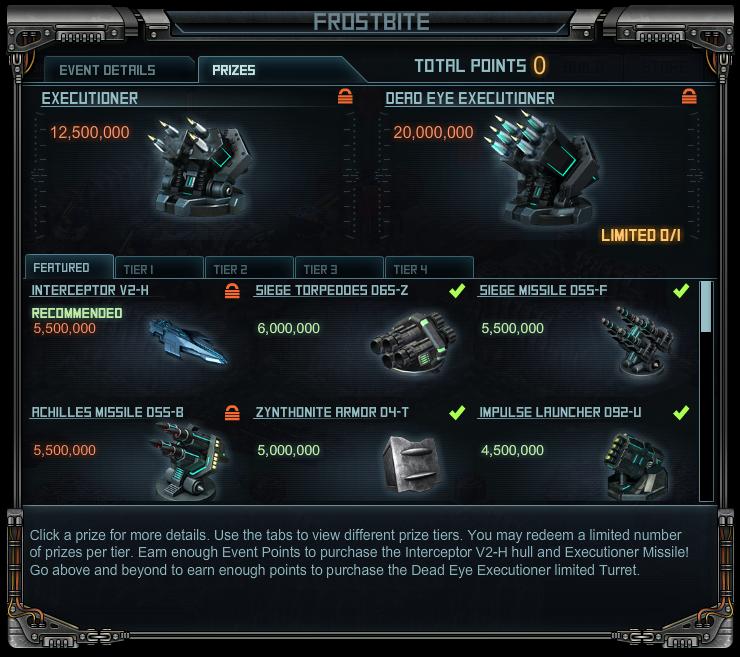 Revenge raid 2 prizes