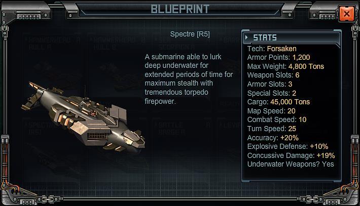 Spectre | Battle Pirates Wiki | FANDOM powered by Wikia