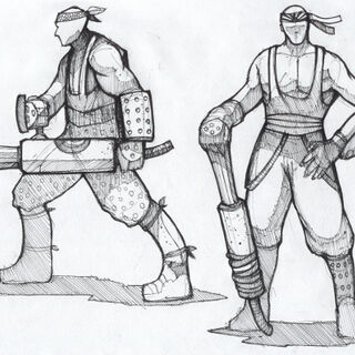 (Early) Cannoneer Concept Art