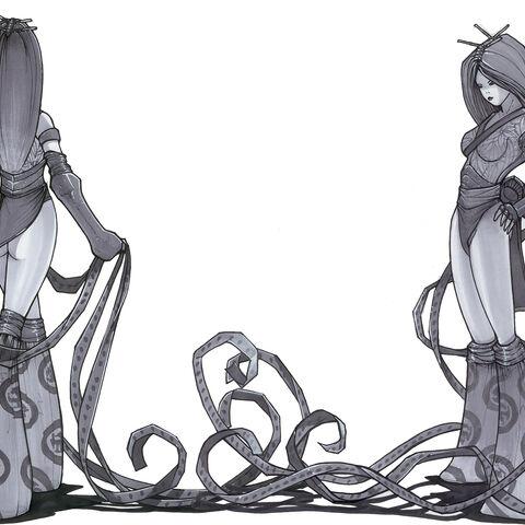 Geisha Concept Art